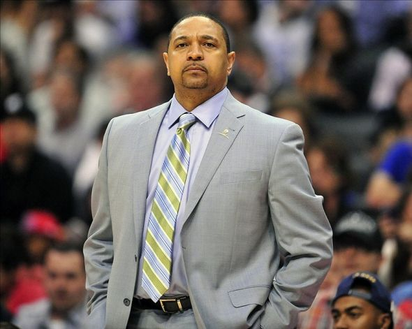 Golden State Warriors Head Coach Mark Jackson has gotten the blunt of the blame for the Warriors perceived underachieving. Gary A. Vasquez-USA TODAY Sports