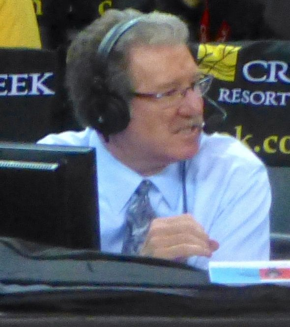JIm Barnett will be leaving the Golden State Warriors' broadcast booth at season's end. (Photo: Matthew Addie, WikiCommons)
