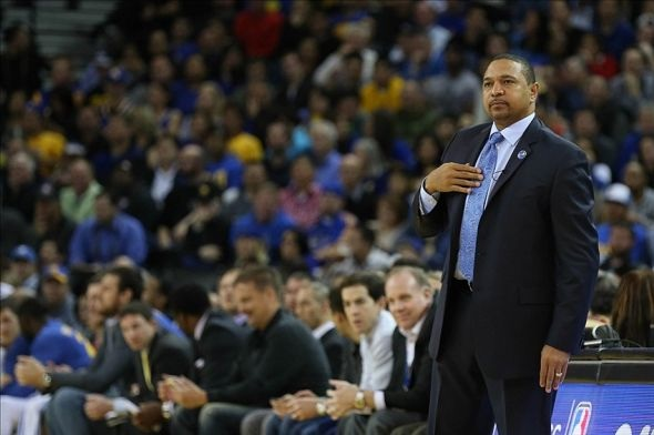 The Golden State Warriors have fired head coach Mark Jackson, the team announced Tuesday afternoon. Mandatory Credit: Kyle Terada / USA Today Sports