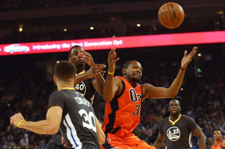 Kevin-durant-harrison-barnes-nba-oklahoma-city-thunder-golden-state-warriors-768x0