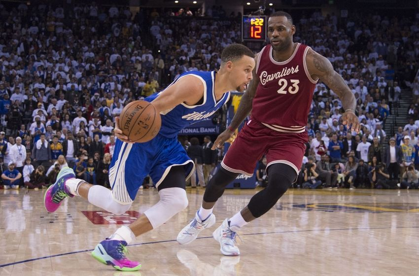 Ulangan Final NBA, Stephen Curry Diredam Kyrie Irving