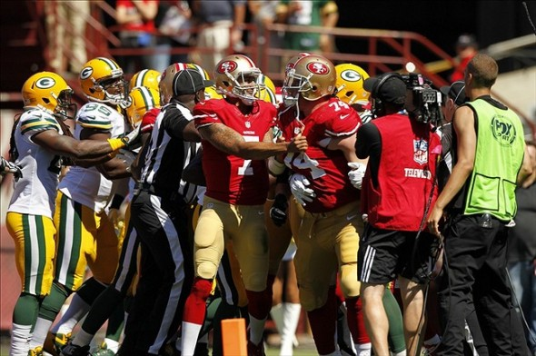 NFL: Green Bay Packers at San Francisco 49ers. Mandatory Credit: Cary Edmondson-USA TODAY Sports
