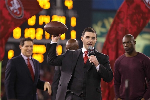 49ers CEO Jed York. Mandatory Credit: Kelley L Cox-USA TODAY Sports