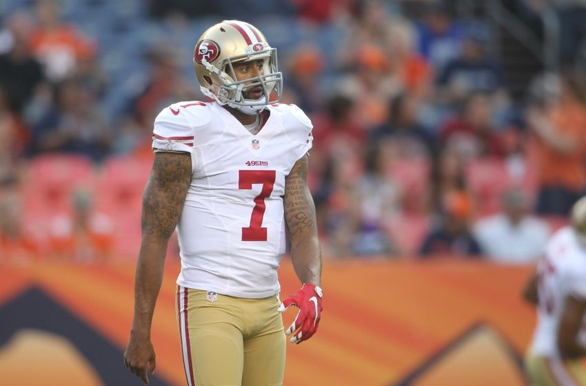 Broncos think Colin Kaepernick is worth a fourth-round pick