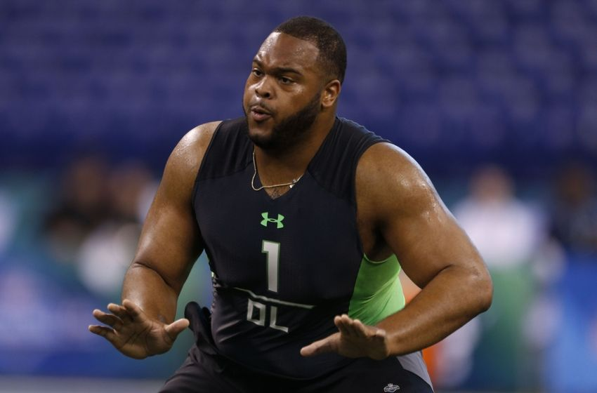 NFL 2016 Draft: Top 10 offensive linemen at Wednesday's Combine workout
