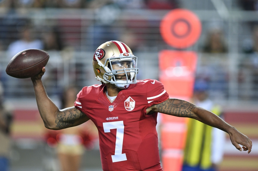 0f00b53c9 Is Colin Kaepernick Trying To Get Cut? | FOX Sports