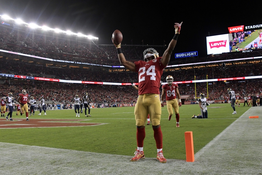 San Francisco rout LA Rams in season opener