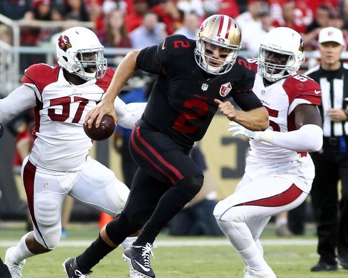 Resultado de imagem para 49ers vs cardinals tnf week 5