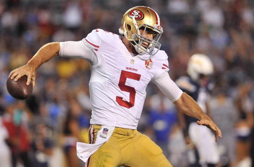 49ers Should Turn To Quarterback Christian Ponder In 2017