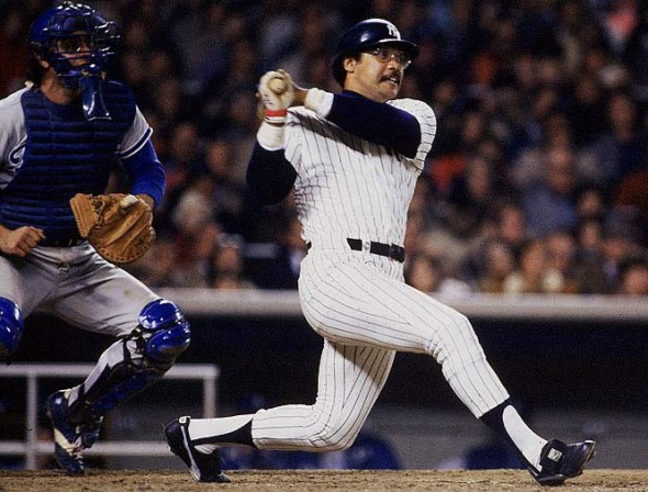 Yankees slugger Reggie Jackson. Mandatory Credit: Getty Images