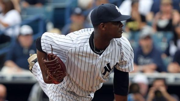 Yankees pitching prospect Francisco Rondon. Mandatory Credit: Kim Klement