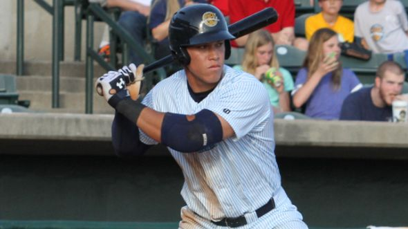 Aaron Judge continues to crush the baseball in 2014, showing why he was worth a first round selection. Mandatory Credit: MiLB.com