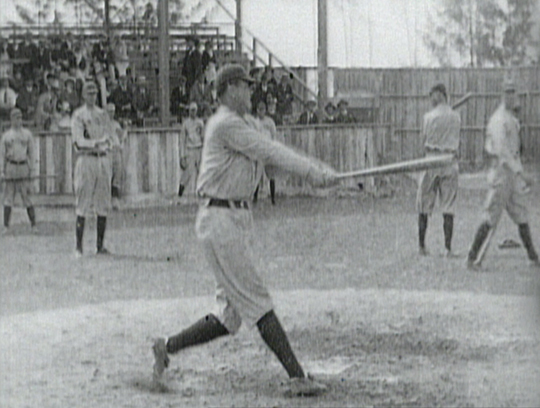 """an analysis of babe ruth the sultan of swat The sultan of swat slammed one out during an exhibition game with the  read  the obituary """"babe ruth, baseball idol, dies at 53 after lingering illness""""  a  critical examination of his work in the new york times in 1910."""