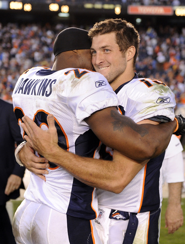 Tim Tebow Bumps Cam Newton Off Cover Of Nfl Magazine