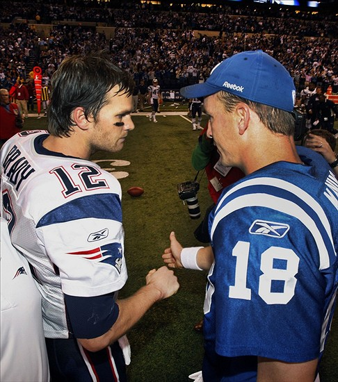 Pictures of Tom Brady And Peyton Manning Manning vs Tom Brady
