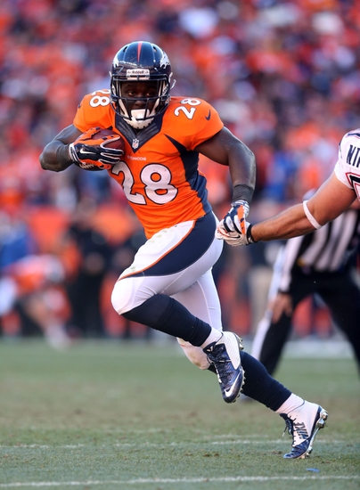 Montee Ball Atop RB Depth Chart for the Denver Broncos