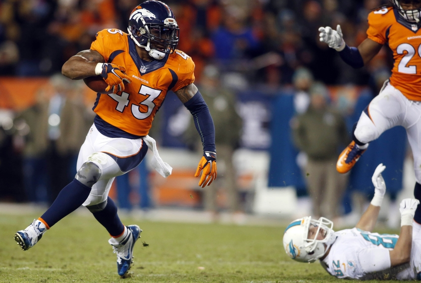 Denver Broncos Seal The Win Over The Miami Dolphins
