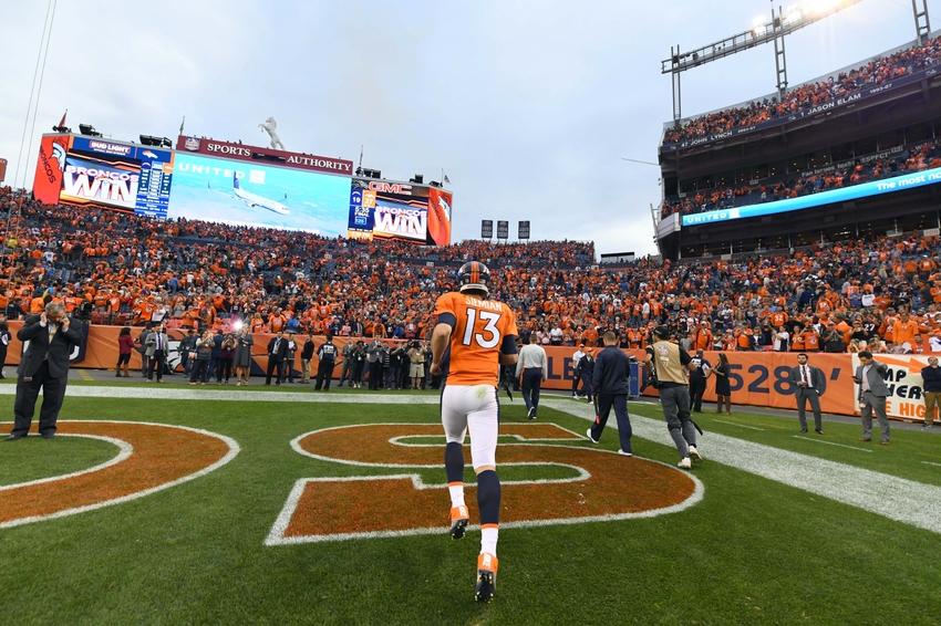 Denver Broncos Avoiding The Rush From Khalil Mack Raiders