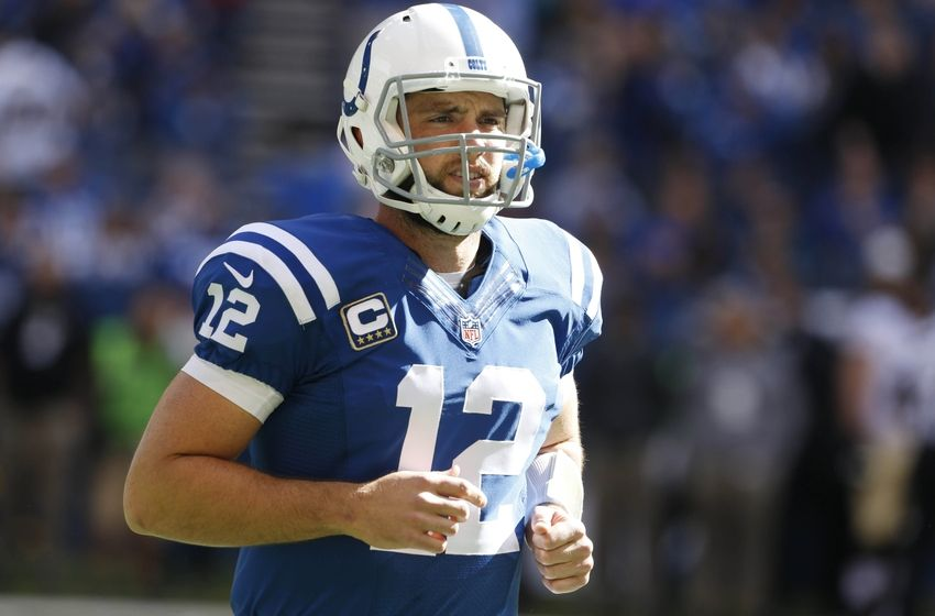 Colts QB Andrew Luck has had cracked ribs since Week 3