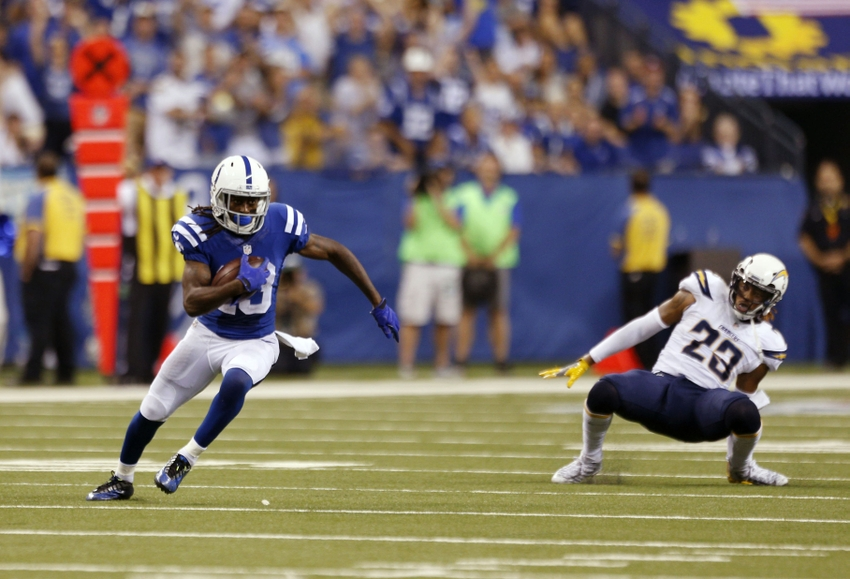 T Y Hilton The Ghost Busts Bolts Coverage Late For