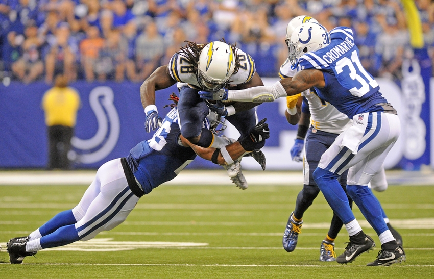 Emerging Star Clayton Geathers Giving Enforcer Like