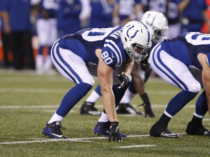 Injuries prompt Colts to sign Coffman as backup tight end