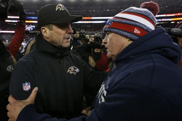 John-harbaugh-bill-belichick-nfl-divisional-round-baltimore-ravens-new-england-patriots-768x511