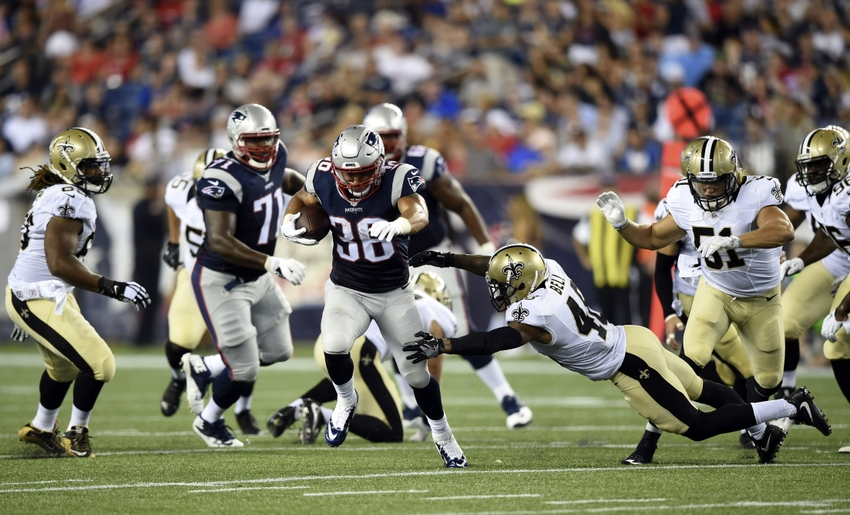 New York Giants vs New England Patriots