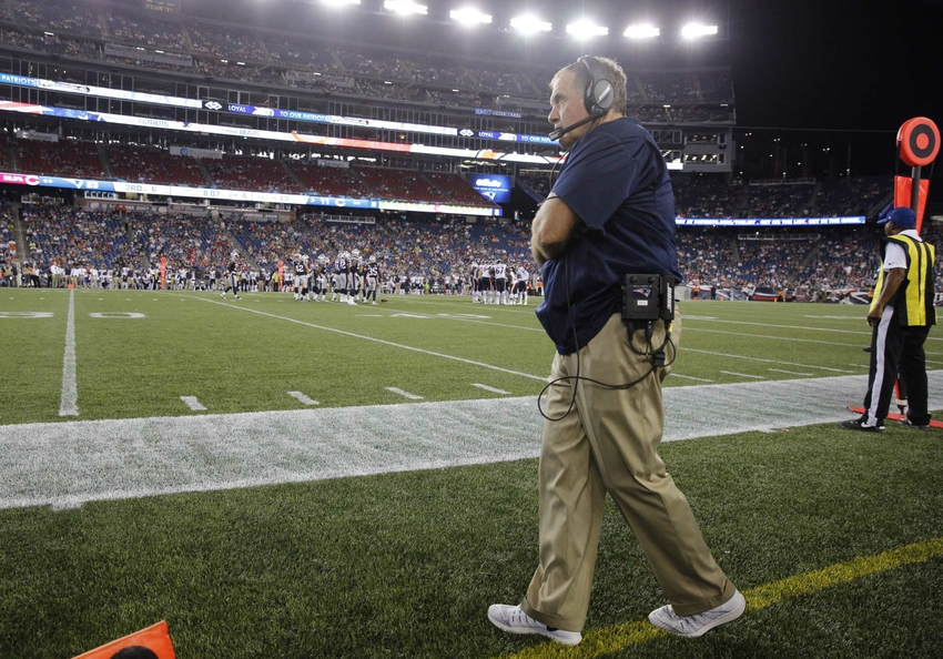 Forming the absolute worst new england patriots roster