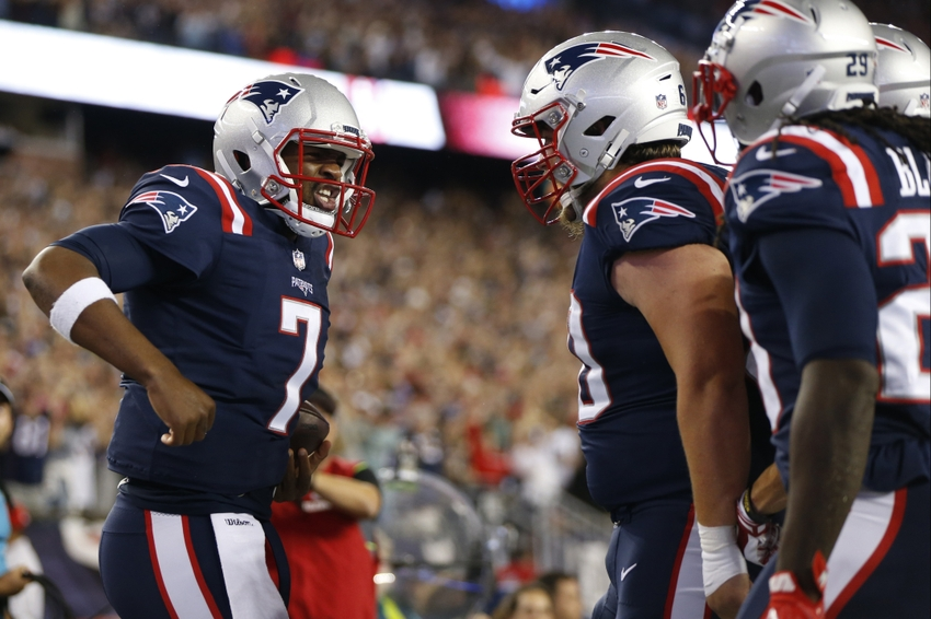 NFL Notes: Jacoby Brissett Thumb Injury a Concern for Patriots