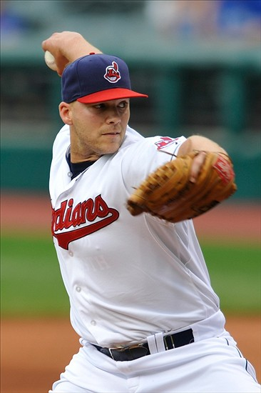 Justin Masterson... Future closer? credit: David Richard-USA TODAY Sports