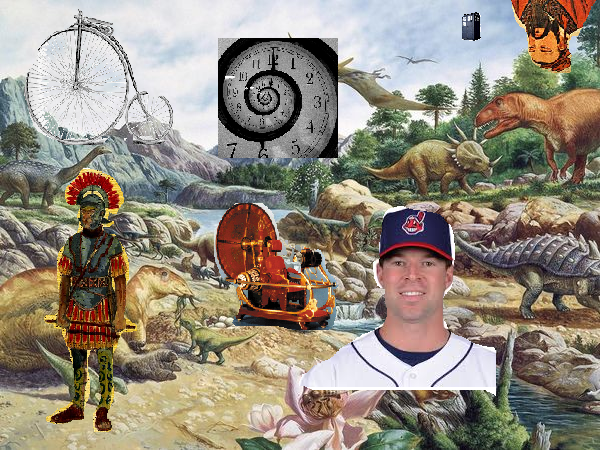 corey kluber time travel