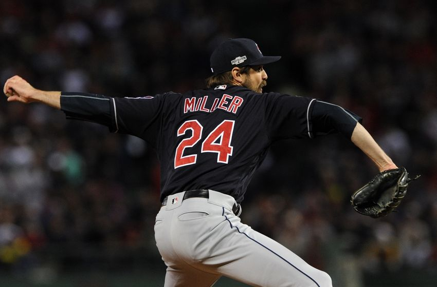 Andrew Miller Cleveland Indians Baseball Player Jersey