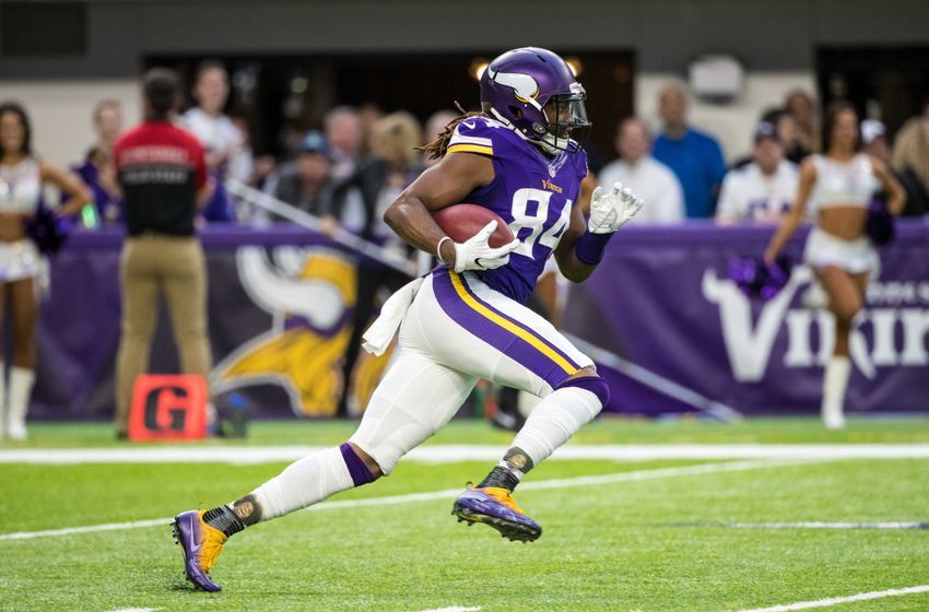 Jan 1, 2017; Minneapolis, MN, USA; Minnesota Vikings wide receiver <a rel=