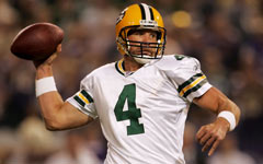 Brett Favre helped spoil Packers fans starting in 1992.
