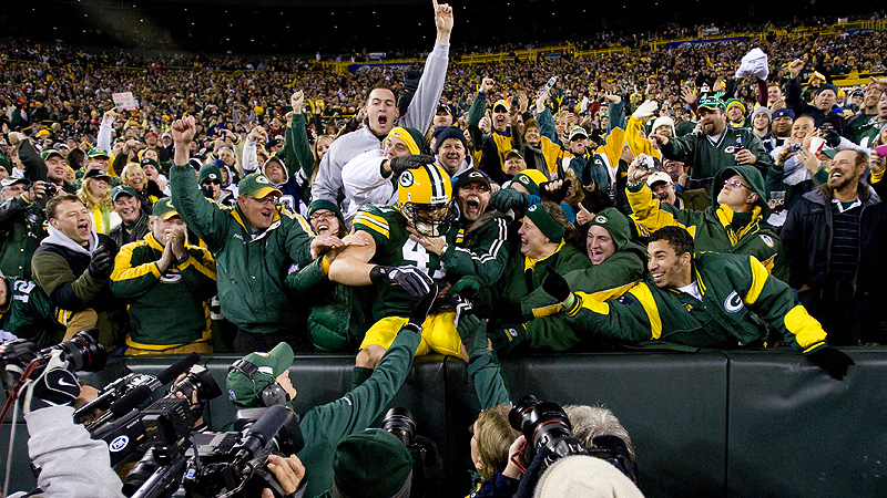 Who wouldn't love seeing a Super Bowl Lambeau Leap?