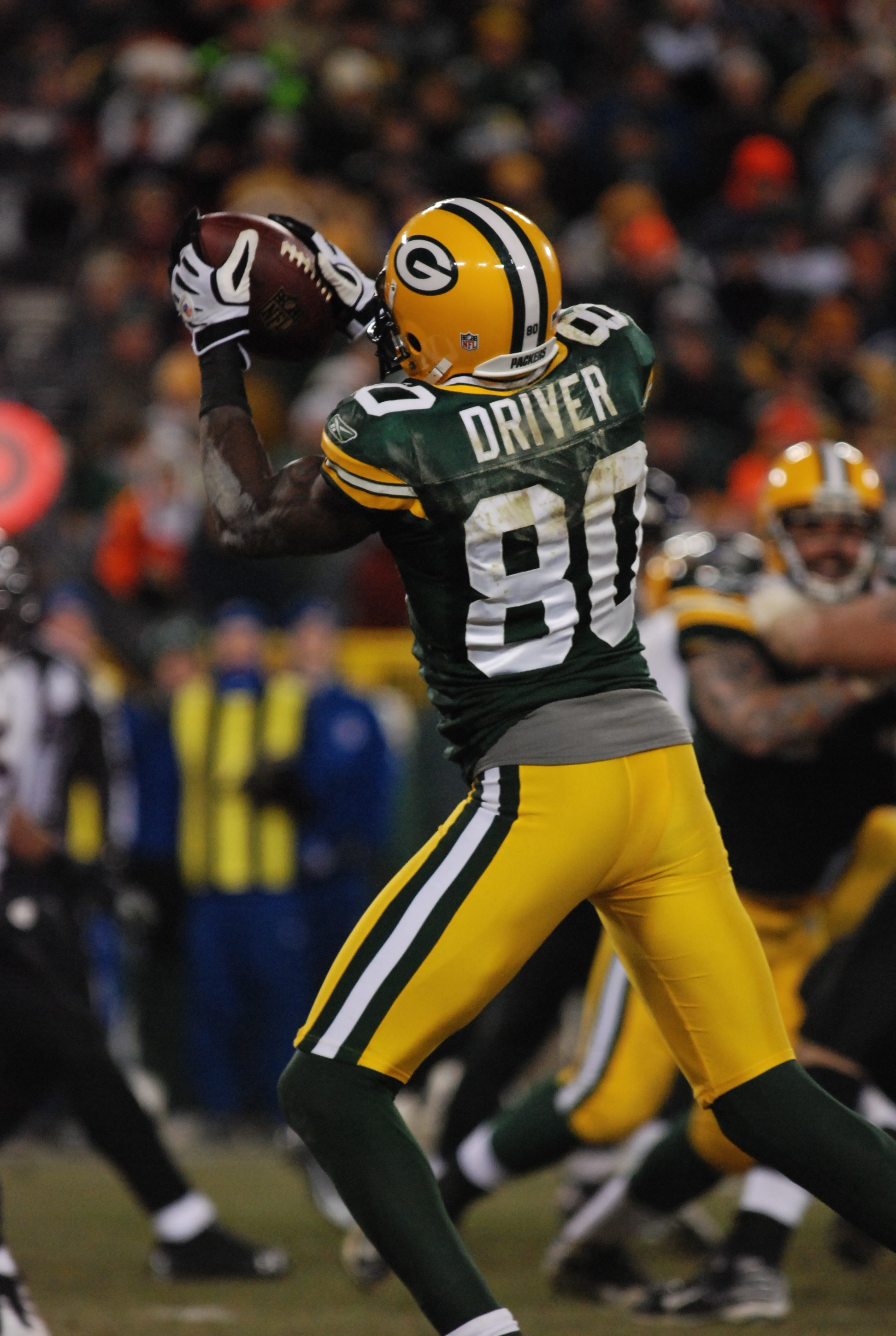 DONALD DRIVER LEAVING PACKERS