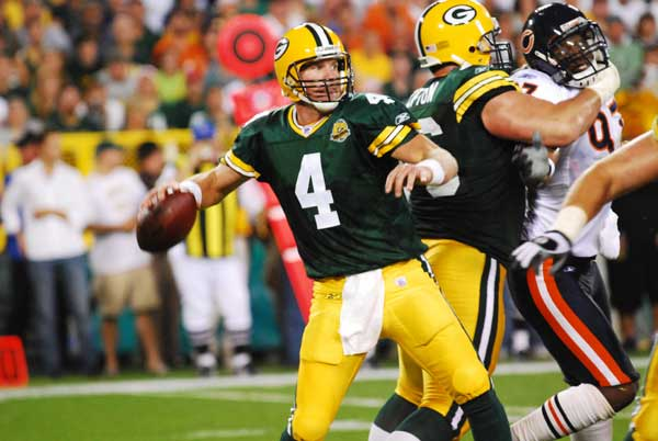 Brett Favre and the Green Bay Packers should come to terms. Raymond T. Rivard photograph