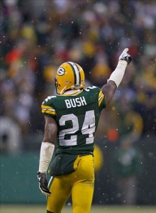 Bush will probably be the nickel cornerback