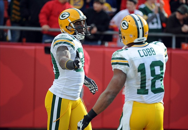 Cobb and Driver will battle for the slot receiver spot.