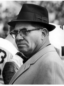 Vince Lombardi was never in the mood for bad tackling