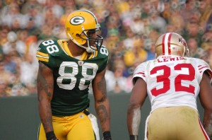 It's time for Jermichael Finley to fulfill his destiny. Raymond T. Rivard photograph