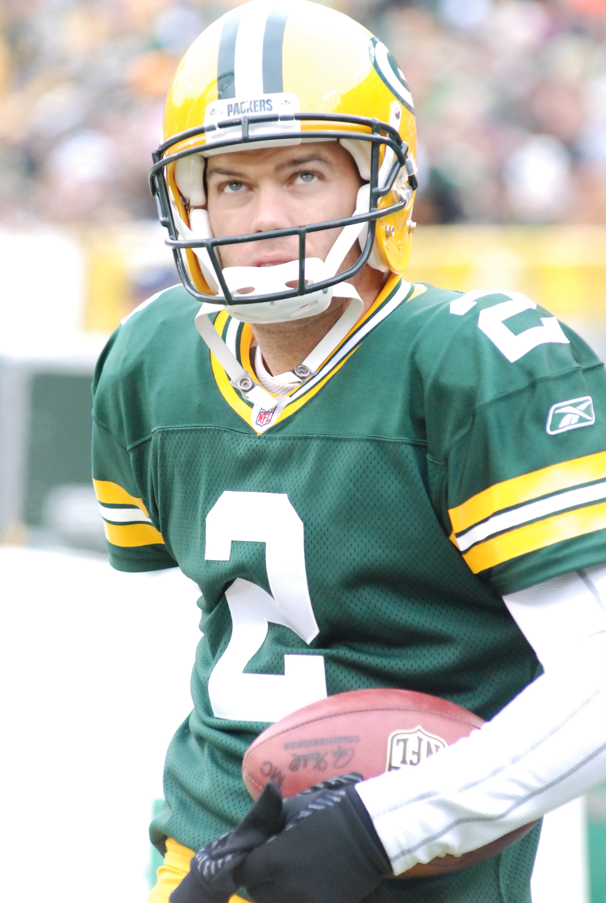 Our hope is that Mason Crosby starts a new string of made field goals. Raymond T. Rivard photograph