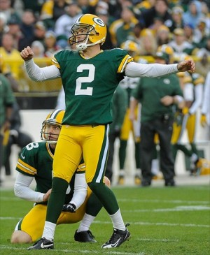 Mason Crosby has regained his confidence