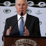 Green Packers General Manager Ted Thompson