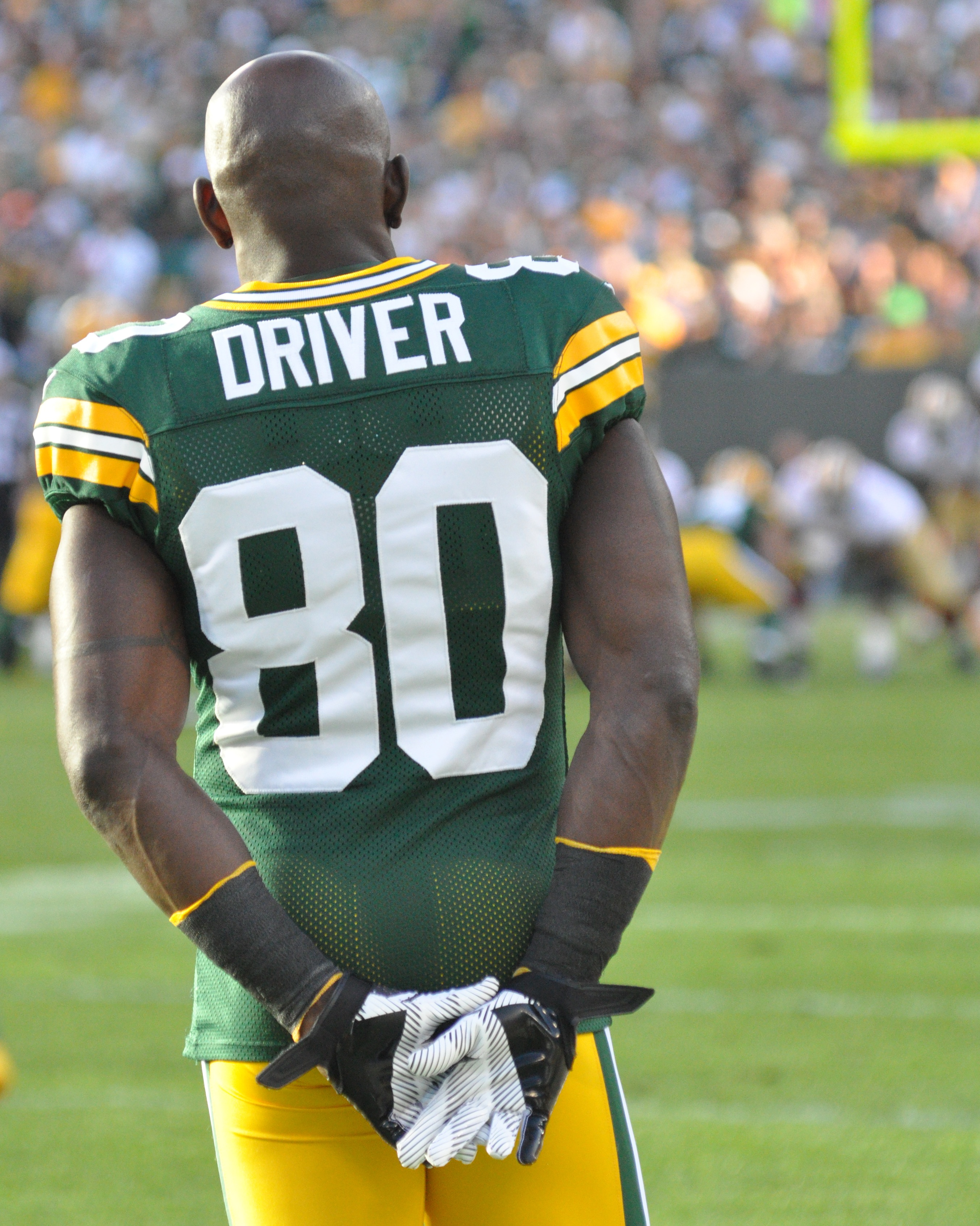 Donald Driver watches the clock run out on the Packers and on his ...