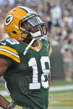 Randall Cobb could be looking up at a much bigger contract in the next couple of years ... Raymond T. Rivard photograph