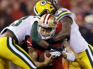 APTOPIX Packers 49ers Football