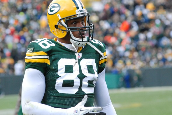 Jermichael Finley - will the Packers take a chance on bringing him back? Raymond T. Rivard photograph