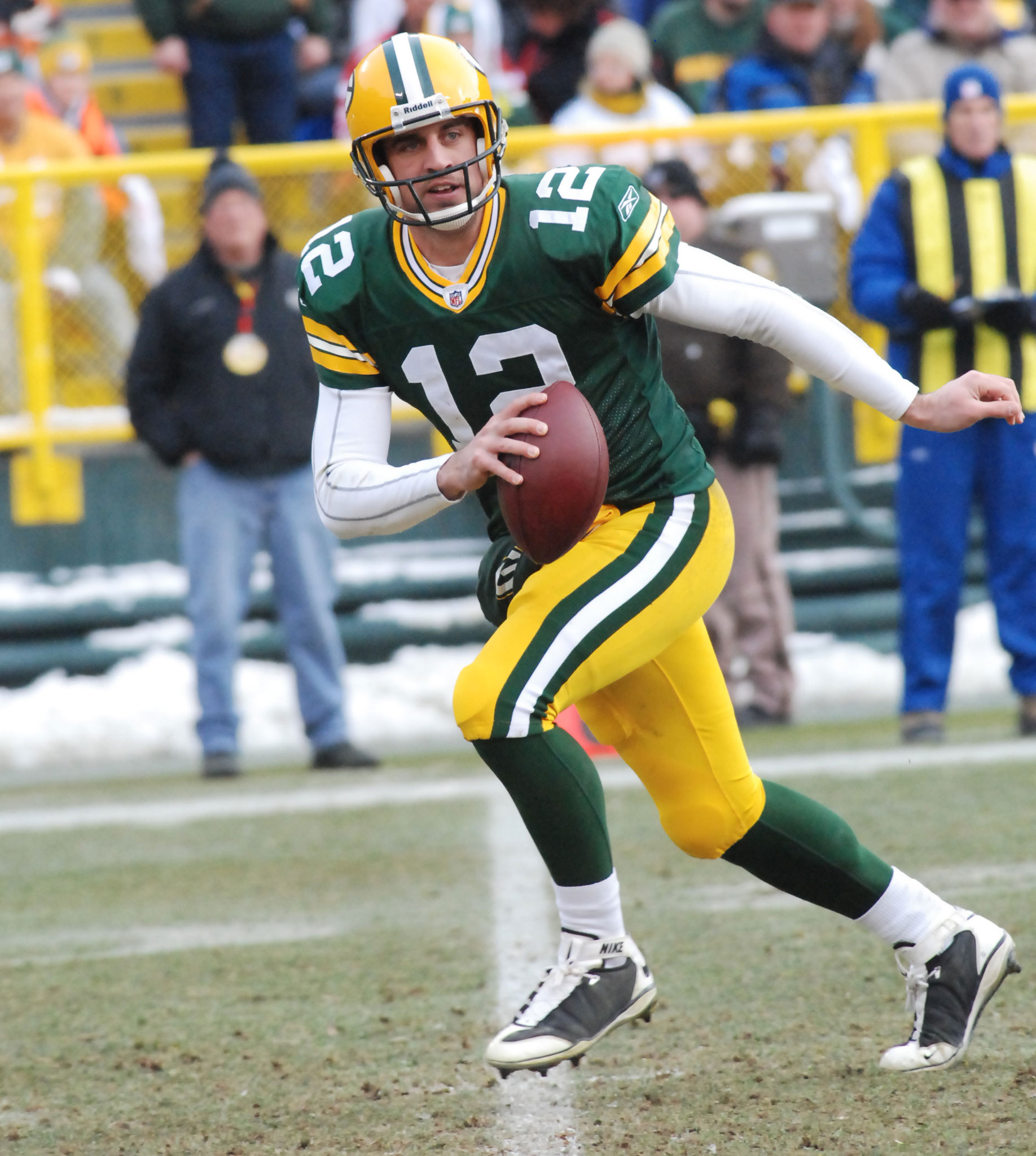Wouldn't it be great to see Aaron Rodgers back on the field? We'll know more today. Raymond T. Rivard photograph